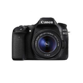 Canon 80D con objetivo EF-S 18-55 IS STM